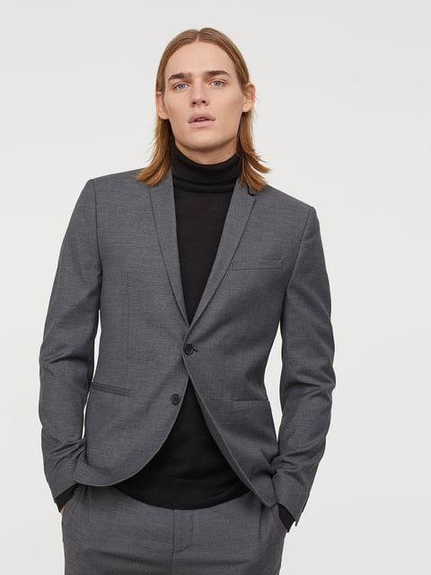 Пиджак серый H&M 5045736