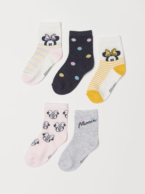 Набір шкарпеток (5 пар) H&M 5045899