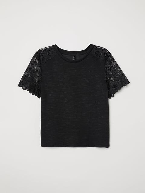 Топ черный H&M 5046015