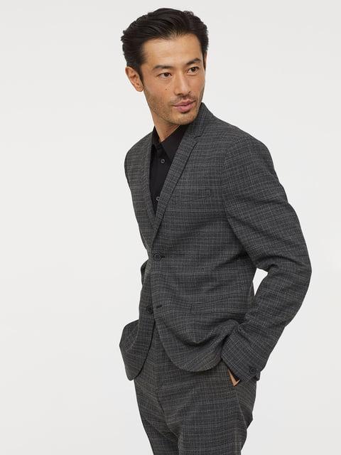 Пиджак серый H&M 5046034