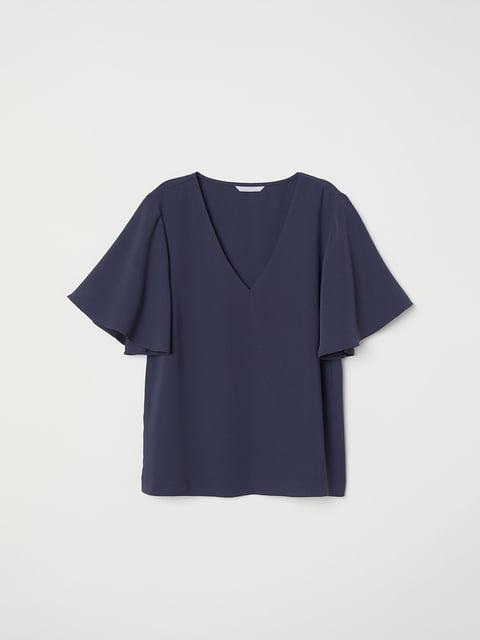 Блуза синяя H&M 5046106