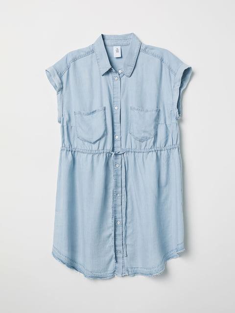 Блуза голубая H&M 5046154