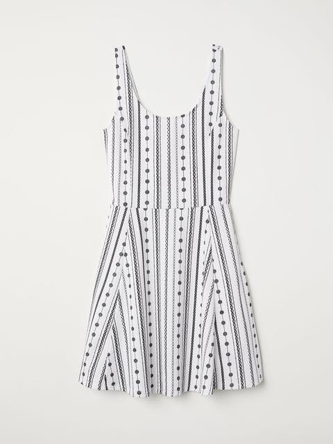 Платье в принт H&M 5046296
