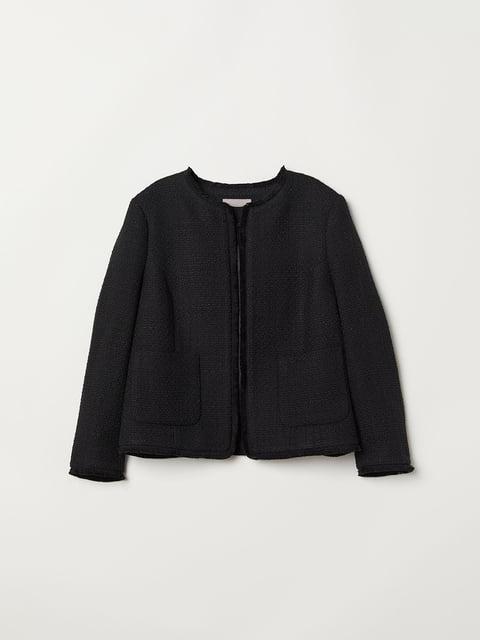 Жакет чорний H&M 5046310