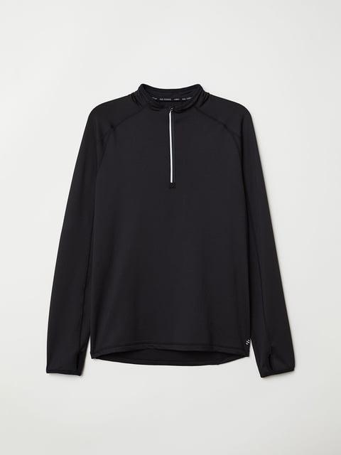 Джемпер черный H&M 5046514