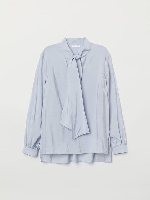 Блуза блакитна H&M 5046614