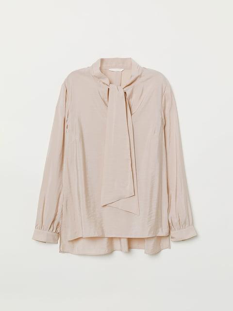 Блуза бежева H&M 5046615