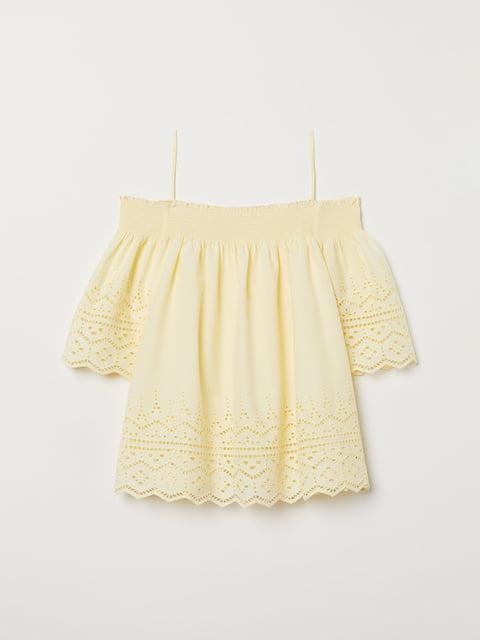 Блуза жовта H&M 5046617