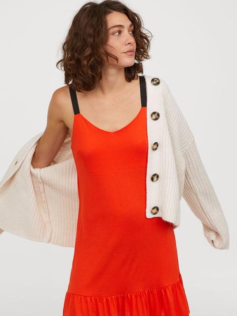 Платье красное H&M 5046619