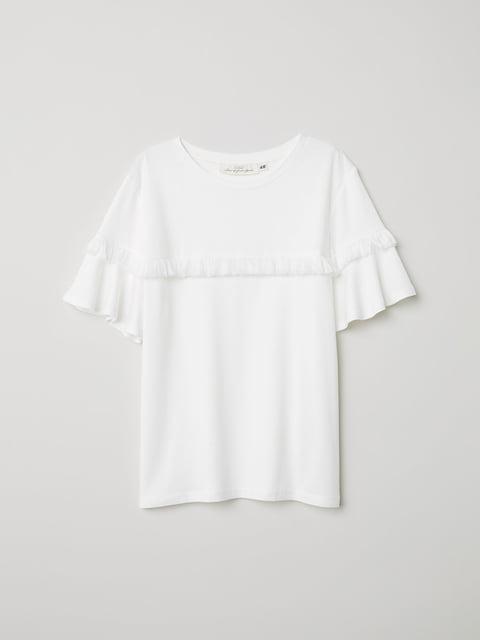 Топ белый H&M 5046652