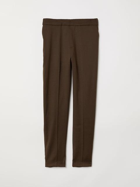 Брюки коричневые H&M 5046688