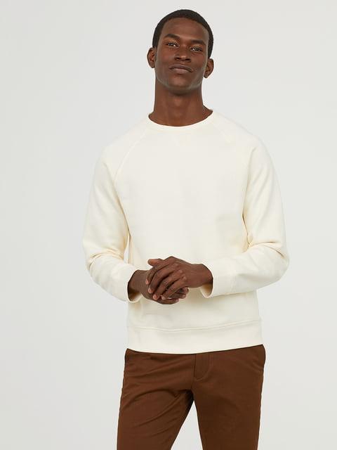 Свитшот белый H&M 5046725