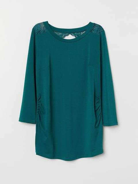 Блуза бирюзовая H&M 5046905