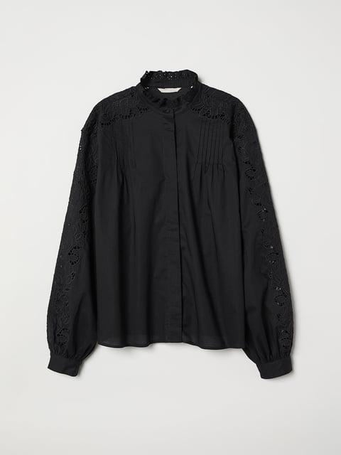 Блуза черная H&M 5046985