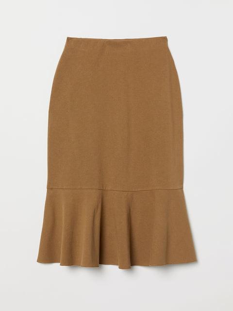Юбка коричневая H&M 5047011