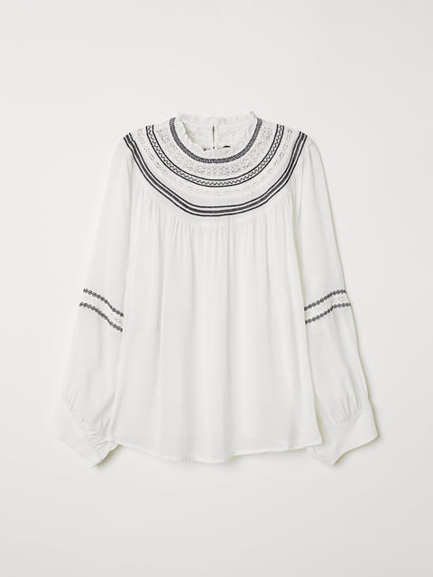 Блуза біла H&M 5047028