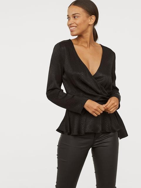 Блуза черная H&M 5047062