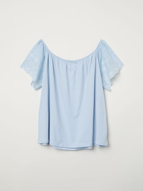 Топ голубой H&M 5047094