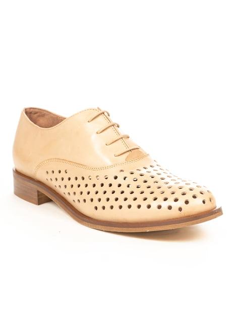 Туфли бежевые PAOLA FERRI 4231842