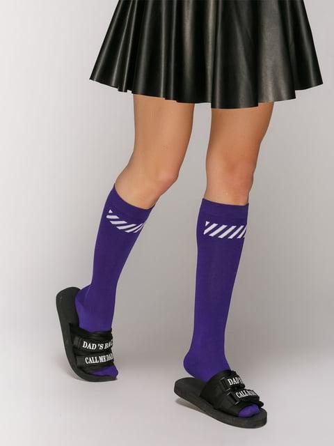 Високі шкарпетки з принтом Viviemma 5029258