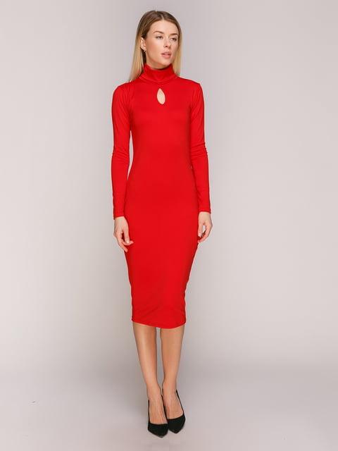 Сукня червона UNQ 4475020