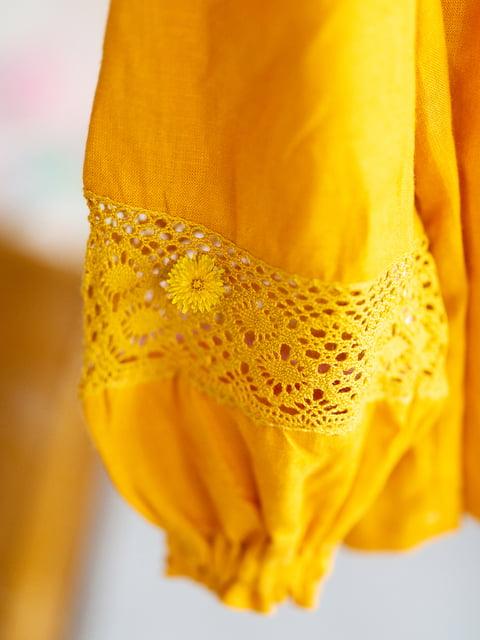 Блуза кольору охри I AM 5056696