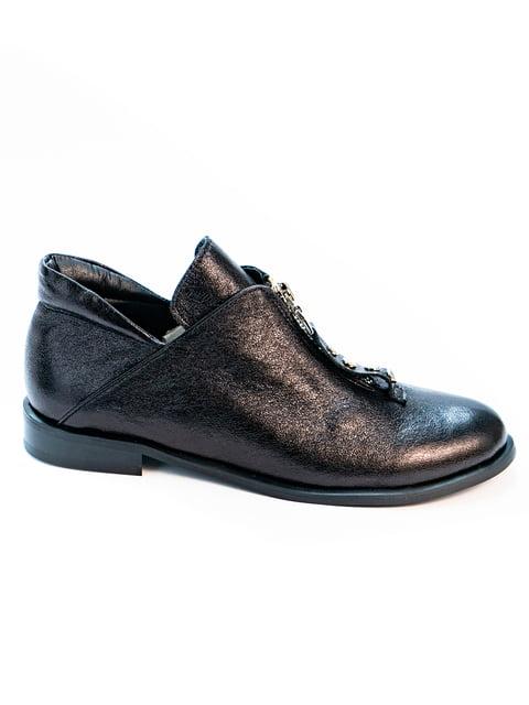 Туфли черные Kluchini 5056901