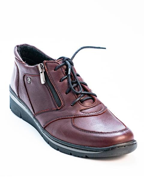 Туфлі бордові Helios 5056953