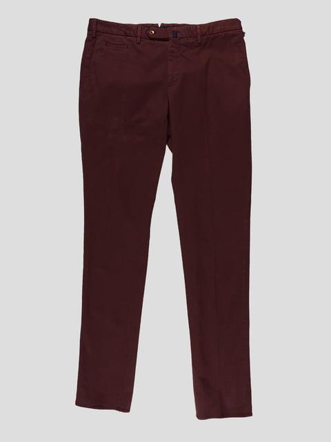 Штани сливового кольору Incotex 3201654