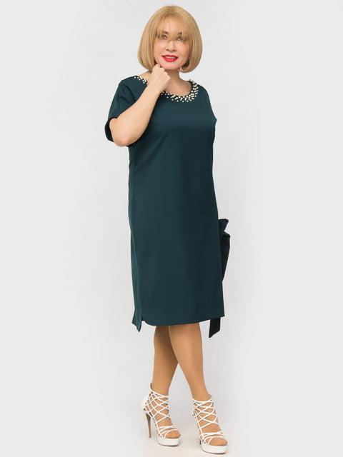 Платье бутылочного цвета LibeAmore 5057250
