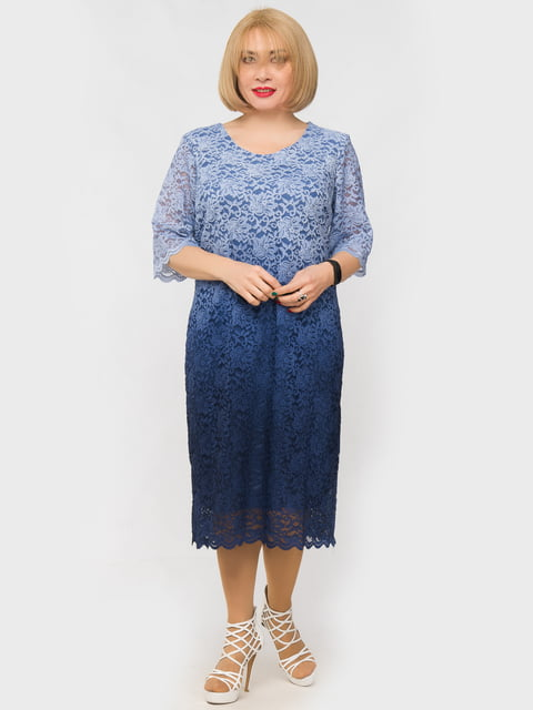 Платье голубое LibeAmore 5057254
