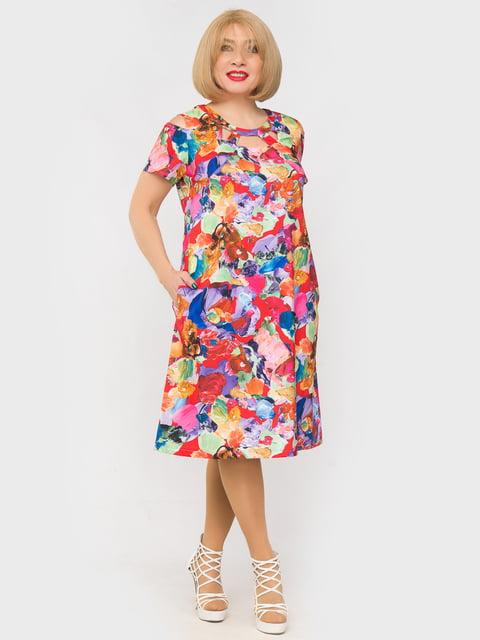 Платье в принт LibeAmore 5057300