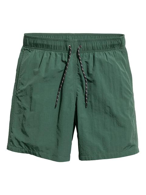 Шорты для плавания зеленые H&M 5045022