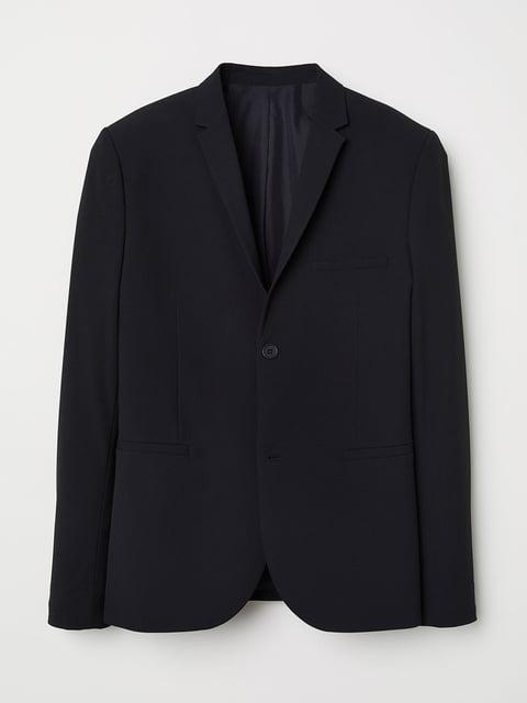 Пиджак черный H&M 5045551