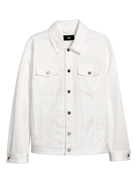 Куртка біла H&M 5045577
