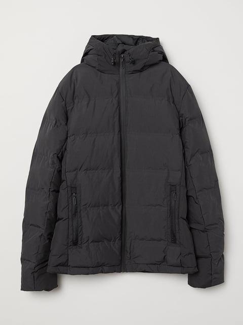 Куртка чорна H&M 5046183