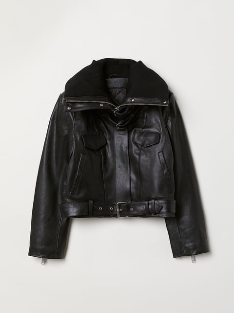 Куртка чорна H&M 5046931