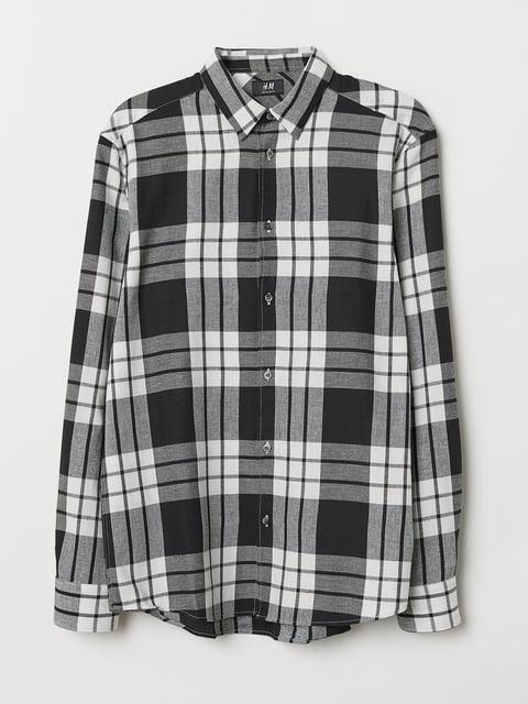 Рубашка в клетку H&M 5046977
