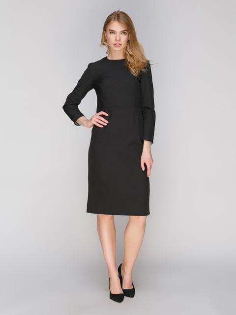 Платье черное ANNA YAKOVENKO 2875481
