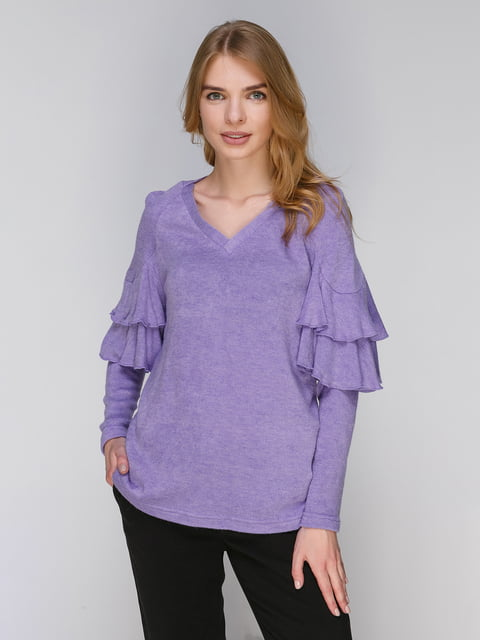 Пуловер сиреневый Lesya 3869575