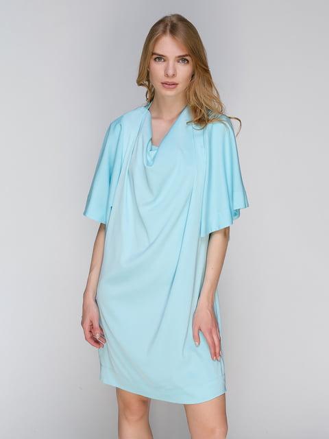 Платье голубое Lesya 2650539