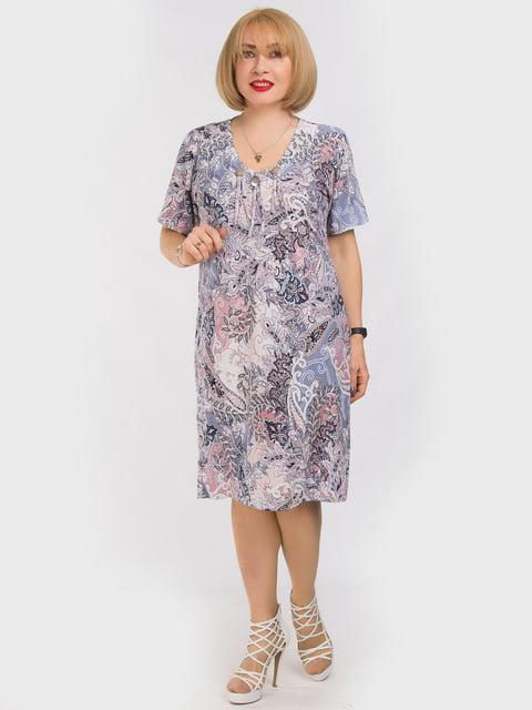 Платье в принт LibeAmore 5062225