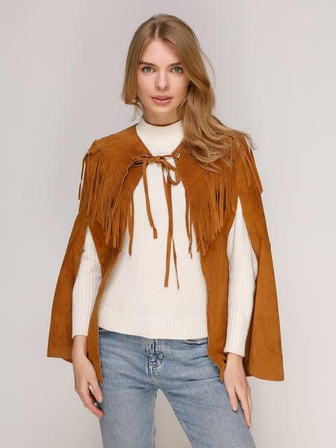 Накидка коричнева Zara 3272635