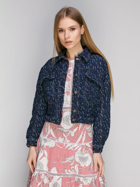 Куртка синяя Dolcedonna 4982705