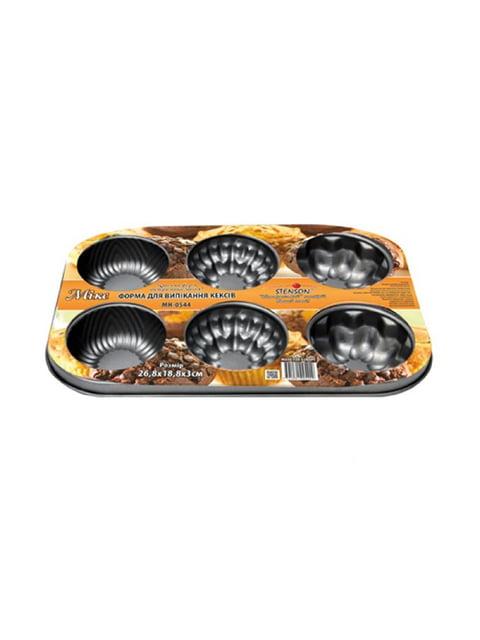 Форма для випічки кексів (6 шт) Trendy 5056460