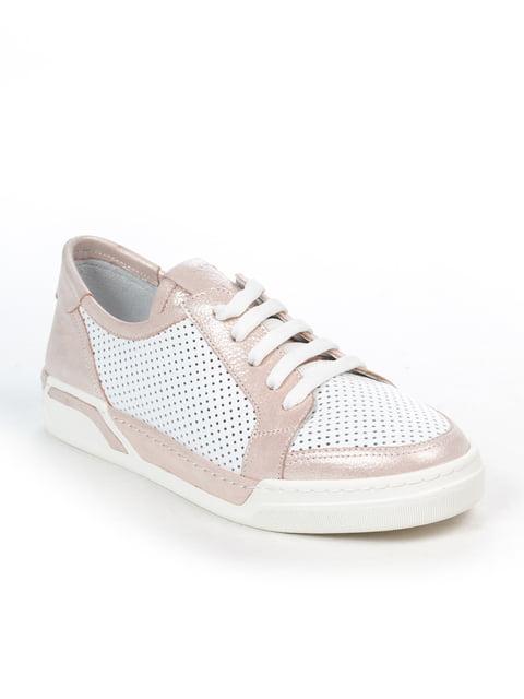Кеды бело-розовые Guero 4915261