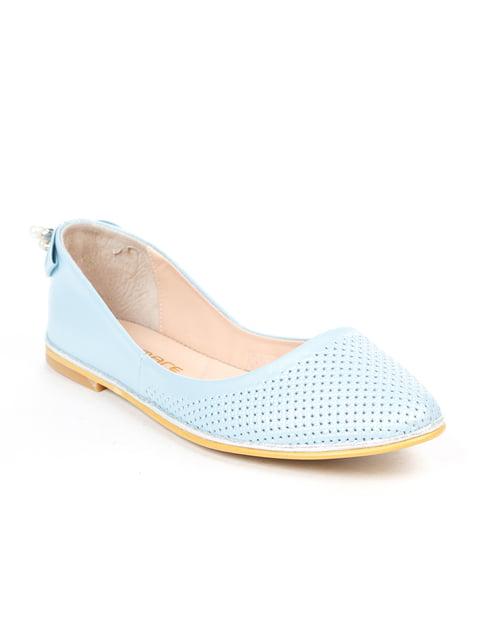 Балетки голубые ALSACE 5057228