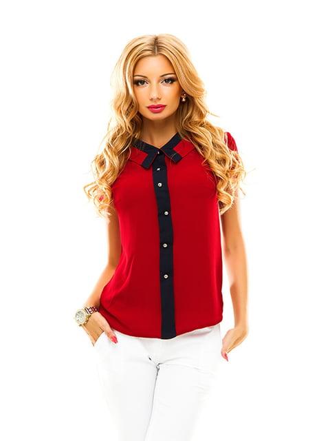 Блуза бордова Elegance Creation 4615777