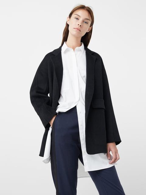 Пальто чорне Mango 5047455
