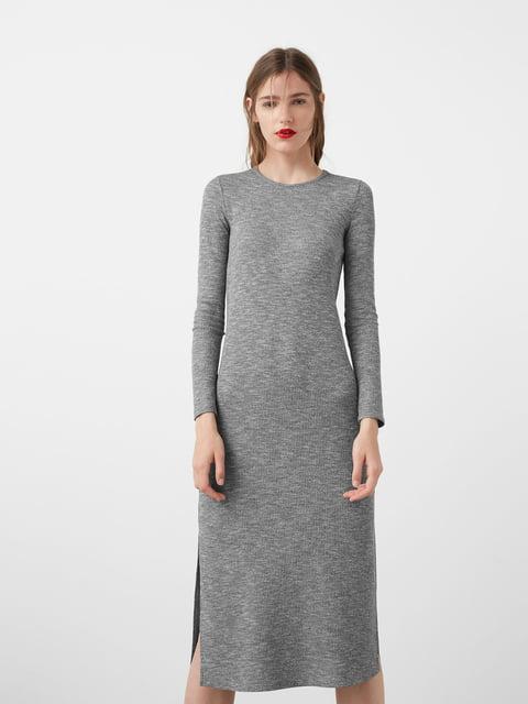 Платье серое Mango 5065130
